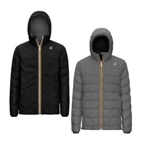 K-WAY Jacques Thermo PLUS.2 Double K111BEW Jacket Reversible Kway A3G 2020/21