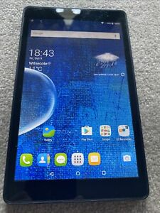 pixi tablet 8gb 7inch screen works fine marks on screen
