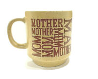 Vintage Mother's Cup-Mug Stoneware, Japan