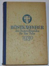 Rüstkammer des Jugendbundes für das Jahr 1930