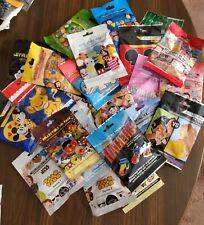 Disney Pins  Mystery Packs 50 AUTHENTIC pins 10 Random Packs FREE SHIPPING