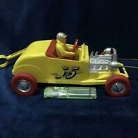HOT ROD MINI CAR TOY COLLECTIBLE REVELL VINTAGE F/S JAPAN 1959 YELLOW