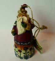 Jim Shore Heartwood Creek Santa Claus 2002 Ornament