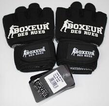 BOXEUR DES RUES Neopren-fit Boxhandschuhe Schwarz S-M
