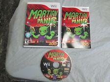 Martian Panic (Nintendo Wii, 2010) complete