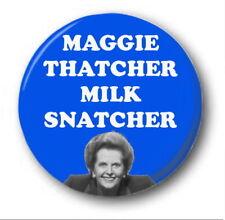 Maggie Thatcher Milch Snatcher - 25mm 2.5cm knopf-abzeichen - Neuheit süß Tory