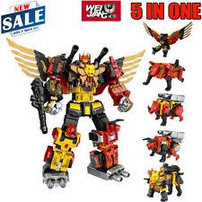 5 In One Set Feral Rex Action Figure Transformers WeiJiang Predaking Combiner