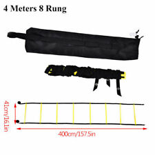 4 & 8 Meters Soccer Football Speed Training Agility Ladder Fitness Portable Bag