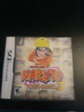 Shonen Jump Naruto Ninja Council 3 Nintendo DS Complete