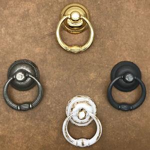 VINTAGE SWING RING DRAWER CUPBOARD DRAWER HANDLES / CABINET PULL HANDLES / CABIN
