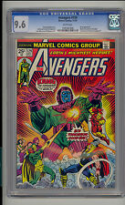 Avengers #129 CGC 9.6 NM+ Unrestored Marvel Kang Rama-Tut WHITE Pages