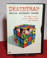 Deathtrap 1982(DVD,1999)Free S&H-Christopher Reeve,Michael Caine-Dir:SidneyLumet