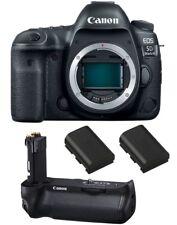 Canon Eos 5D Mark Iv Digital Slr Camera + Bg-E20 Battery Grip + Spare Batteries