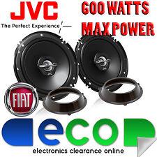 Fiat Panda 2003-2014 JVC 16cm 6.5 Inch 600 Watts 2 Way Front Door Car Speakers