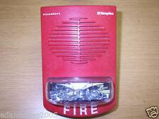 SIMPLEX 4903-9350 15CD FIRE ALARM SPEAKER STROBE