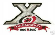 2007-08 CAROLINA HURRICANES 10 YEAR OFFICIAL NHL PATCH