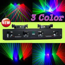 4 Lens Red Green Violet  DJ  DMX Laser Stage Lighting Disco Club Bar light