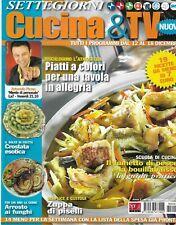 Settegiorni cucina & tv anno 2 n.26 dall'12 al 18 dicembre