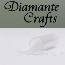 1200 X 2mm claro no cuentas con agujero (Color 15) hacer la tarjeta, artesanías, Nail Art