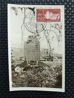 DDR MK 1956 546 JENA MAXIMUMKARTE CARTE MAXIMUM CARD MC CM c4756