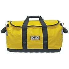 Extreme Max Dry Tec Water-Repellent Zippered Duffel Bag, Large-Yellow