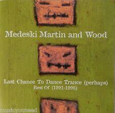 Medeski, Martin & Wood - Last Chance to Dance Trance: Best Of (1991-1996) VG+++