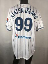 Staten Island Yankees #99 AARON JUDGE Promo Domino's Jersey SGA Sz XL EUC