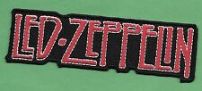 """New Led Zeppelin 'Red' 1 1/4 X 4 1/4 """" Inch Iron on Patch Free Shipping"""