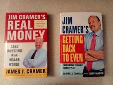 Jim Crame's Real Moneyand Getting back to even books 2 pack