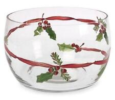 NEW Large Block Gramercy Crystal Trifle Bowl Boxed Made in Poland