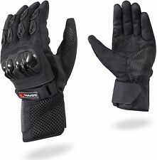 GearX Mesh Motorcycle Gloves Motorbike Knuckle Shell Guard