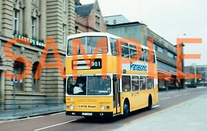 "35mm bus slide TWPTE Scania / Alexander JFT414X - 414 on Metro cover"" Blurred"""