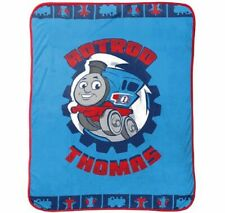 New Thomas the Tank Engine Train Plush Fleece Throw Gift Blanket Tv Show Cartoon