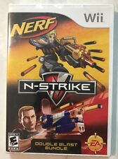 Brand New!!! Nerf N-Strike Double Blast (Wii, 2008) Factory Sealed!!! See Detail