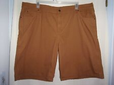 Preowned Diehard Mens Brown Work Shorts Size 46.Work Or Play