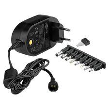 3000mA Universal Netzteil 36W Netzgerät Ladegerät Ladekabel 8x Adapter 5V - 15V
