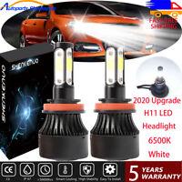4Side H1 H9 LED Headlight Bulb For Holden VE Commodore SS SSV SV6 HSV High Beam