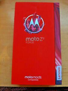 New Motorola MotoZ 2 Force Motomods Compatible XT1789  Lunar Gray