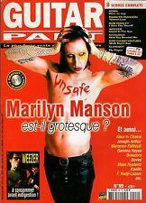 "GUITAR PART #99 ""Marilyn Manson,Hadji-Lazaro,Dolly,Breeders"" (REVUE)"