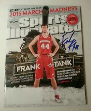 FRANK KAMINSKY WISCONSIN BADGERS SIGNED SPORTS ILLUSTRATED MAGAZINE POY
