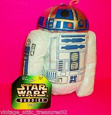 "STAR WARS ""R2-D2"" ANDROID RETURN OF THE JEDI PLUSH TOY FIGURE - NEW W TAGS! POTF"
