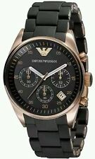 Emporio Armani AR5905 black dial For Men's Chronograph Watch