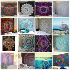 10 PCS Wholesale Lot Mandala Tapestry Wall Hanging Indian Twin Gypsy Bedspread