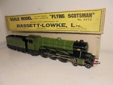 "Bassett-Lowke""O""- 3304/0 LNER""Flying Scotsman""Loco& Tender-4472-xclnt/boxd c1934"