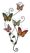 Metal Wall Butterfly Art Home Kitchen Indoor Outdoor Patio Decor Room Dorm Gift