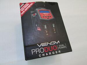 Venom Pro Duo Dual Power 160W AC/DC Charger LiPO LiHV LiFE Li-Ion NiCD NiMH Pb
