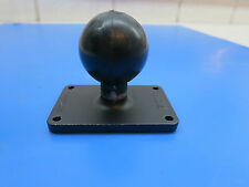 "RAM Mount with 1.5"" Ball on a Rectangular Plate measuring approx 1.75"" x 2.75"""