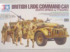 British Command Car Afrika m. Soldaten - Tamiya Bausatz 1:35 - 32407 #E