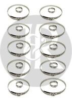 10X UNIVERSAL STAINLESS STEEL CLAMP CLIP SET FOR DRIVESHAFT CV JOINT BOOT KIT