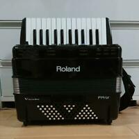 Roland FR-1X Black Electron Piano V-Accordion Keyboard Built-in Speaker